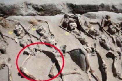 揭秘:古代殉葬的妃子双腿骨为何是分开的?