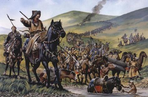 一箭射死父亲,冒顿单于是怎么带领匈奴一族强大起来的?