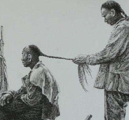 清朝剃头留辫到底是什么样的 为什么有留发不留头,留头不留发说法
